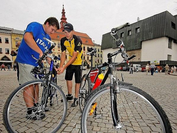 Start cyklojízdy v Jihlavě