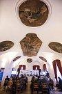 Beseda s hejtmanem Kraje Vysočina Jiřím Běhounkem v Hotelu Gustav Mahler v Jihlavě.