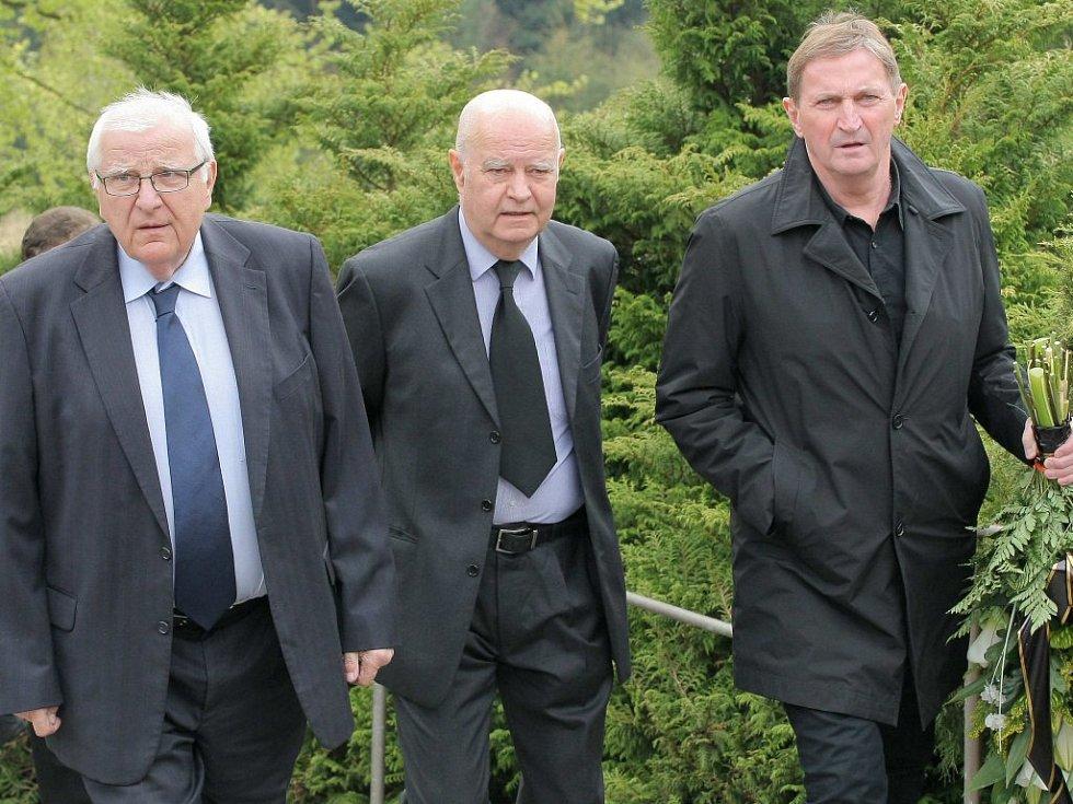 S Holíkem se loučil také bývalý reprezentační trenér Alois Hadamczik