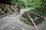 Třetí ročník závodu horských kol Jihlavská 24 MTB se uskutečnil na devítikilometrovém okruhu převážně v centru Jihlavy.