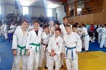 Chlapecké zastoupení Judoteam Vysočina bylo na slovenské půdě úspěšné a potvrdilo, že v kraji jsou velmi nadějní judisté. Foto: Archiv Judo Vysočina
