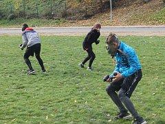 Školáci si zkusili několik činností, které nezažívají denně.