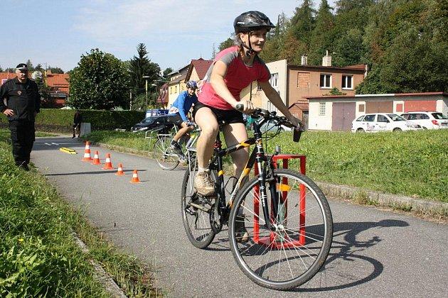 Cyklista Vysočiny