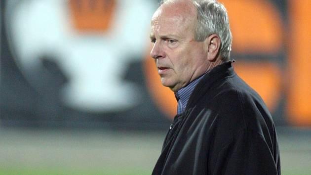 Trenér jihlavských druholigových fotbalistů Milan Bokša.