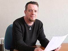 Angličan Lee Anthony Walsh žijící v Jihlavě.