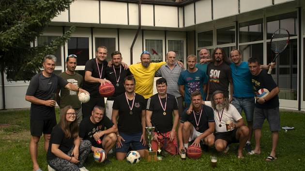 Pošesté se ve Zhoři utkali sportovci v rámci míčového sedmiboje Zhořská sedma.