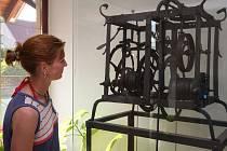 Pěkně zblízka si budou moci návštěvníci jihlavského Muzea Vysočiny prohlédnout třeba také hodinové stroje. Na ilustračním snímku je přístroj starý asi 600 let. Pochází z věže kostela svatého Michaela Archanděla v Uhelné Příbrami na Havlíčkobrodsku.