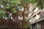 Jeden z bytových domů vBangkoku.