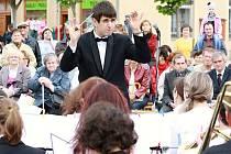 Koncert v jihlavském Parku Gustava Mahlera.