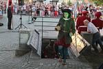 Jihlavští havíři vyráží z podzemí do ulic města po dvou letech.