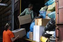 Minulý rok se v krajském městě Vysočiny vybralo rekordních 34 tun věcí, tedy tři vagony.