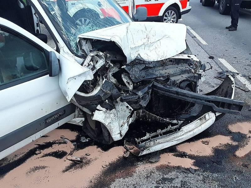 Dopravní nehoda u Vílance.