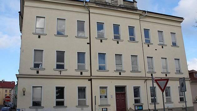 Bývalý dům dětí a mládeže v Brněnské ulici.