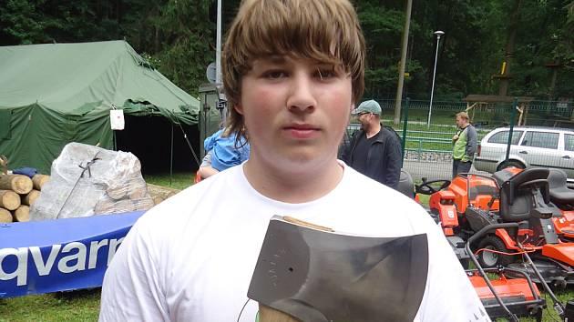 Jan Kamír byl se svým výkonem v soutěži spokojený.