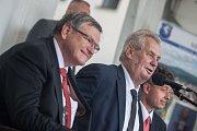 Návštěva prezidenta republiky v Kraji Vysočina v roce 2017. Setkání s občany Třeště