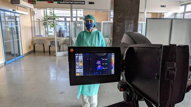 Jihlavská nemocnice. Ilustrační foto