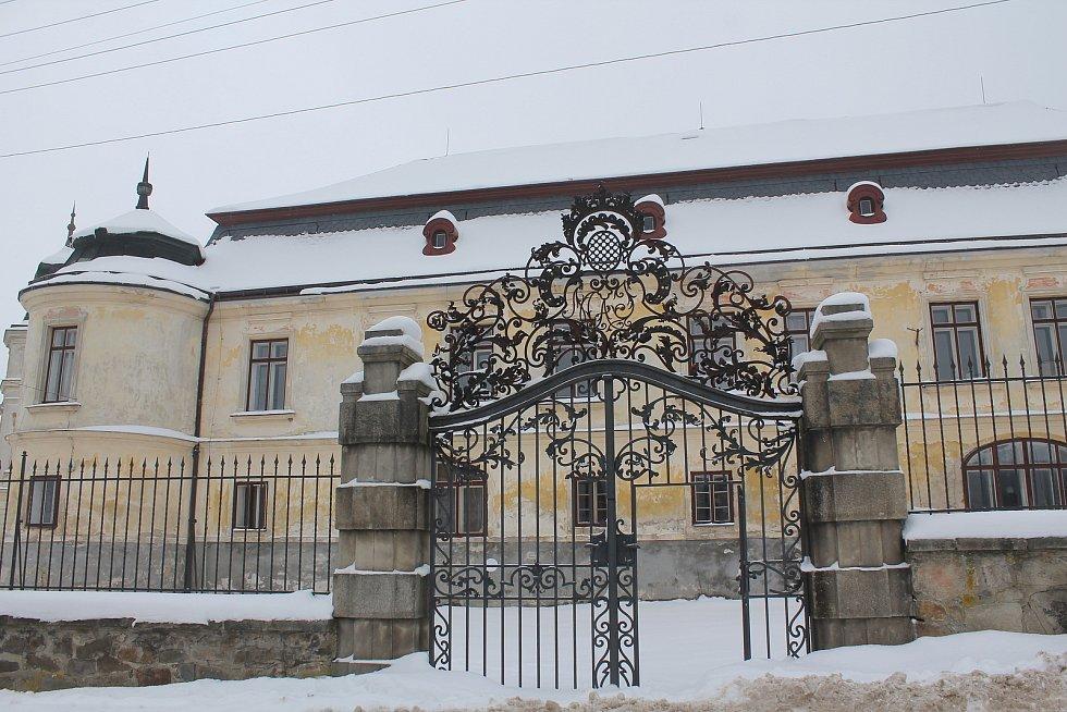 Zámek ve Větrném Jeníkově.