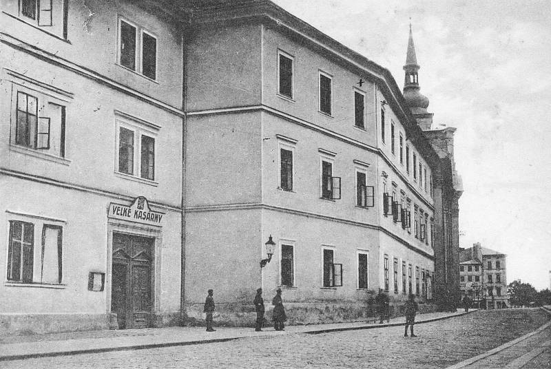 Zrušený dominikánský klášter v Jihlavě dlouhodobě využívalo vojsko.