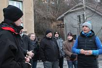 Ptali se a kritizovali. Náměstek primátorky Vít Zeman uvítal, že veřejnost měla o setkání zájem. Třebaže byla chvílemi trochu ostřejší.