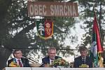První den návštěvy prezidenta republiky v Kraji Vysočina. Setkání s obyvateli Smrčné a okolních obcí.