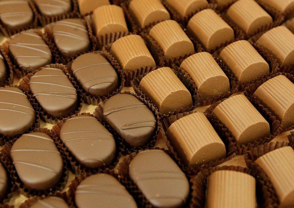 Čokoládovna ve Vyskytné.