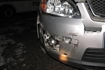 Nemilé překvapení v podobě srny čekalo na řidiče vozidla Ford, který jel ve směru od Kostelce na Jihlavu.