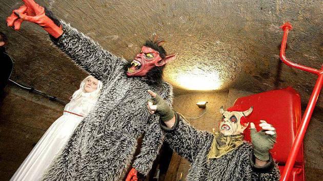 Jihlavské podzemí obsadili pekelníci. Ilustrační foto.