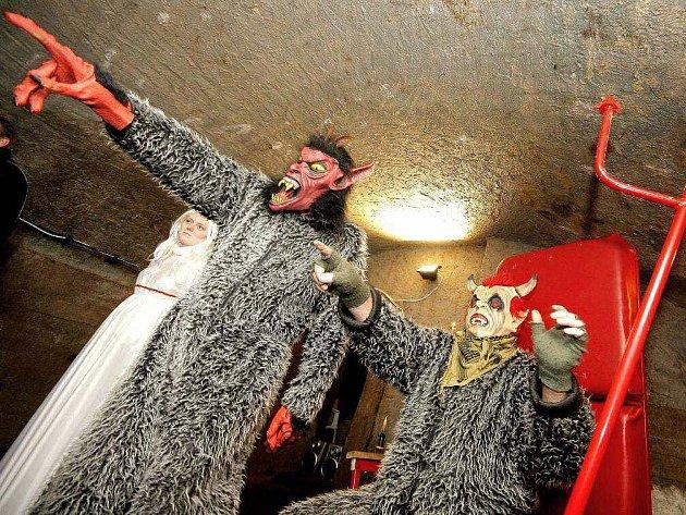 Jihlavské podzemí obsadili na tři dny pekelníci.
