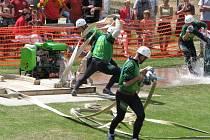 Rovných sedmnáct vteřin. Za tak rychlý hasičský útok se na nedělní extraligové soutěži v Sedlejově rozdávaly nejcennější body.