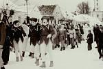 Masopustní rej masek v Mrákotíně býval rok co rok velkou a dlouho připravovanou společenskou akcí. Poslední fašank proběhl v 80. letech minulého století.