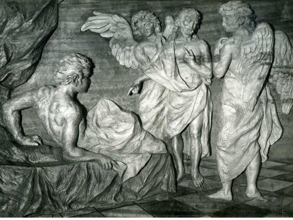 Jan Florian, reliéf, lípa.