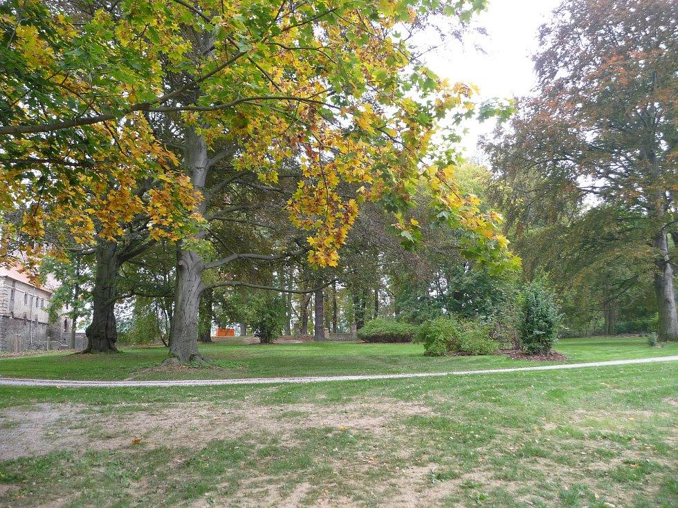 Zámecký park.