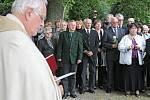 Ostatky z Budínky pohřbili příbuzní z Německa v Jihlavě.