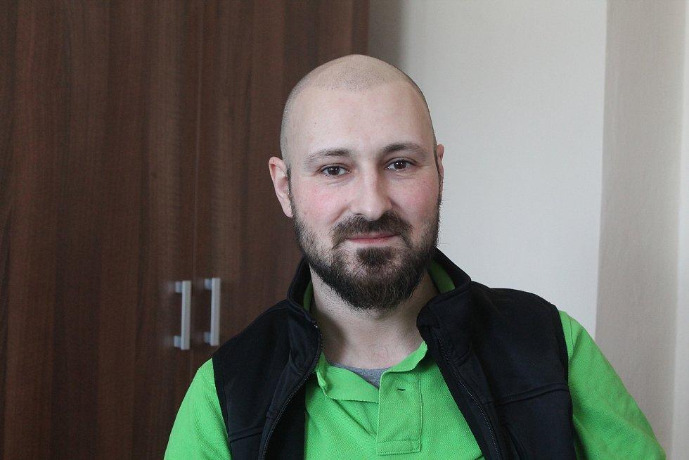 Starosta Jamného Ľuboš Varhaník.