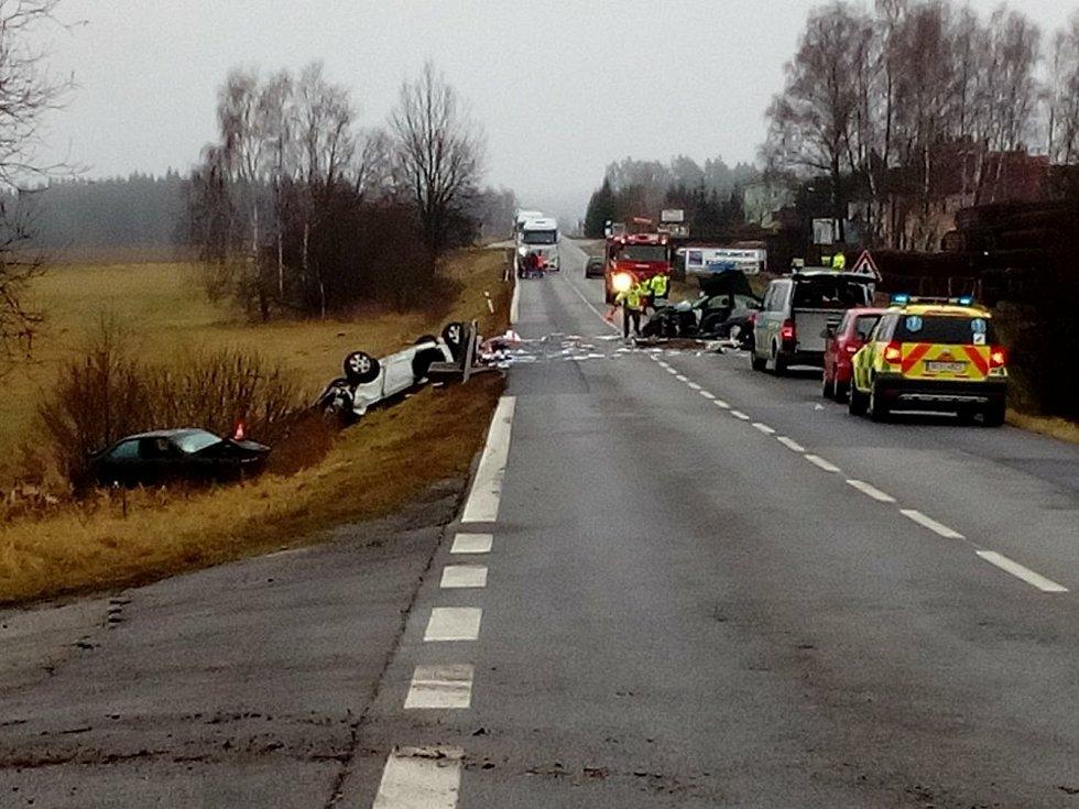 Smrtelná nehoda na E55.
