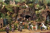 Výstava betlémů v Schumpeterově domě v Třešti
