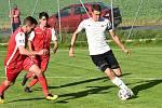 Šlágrem krajského přeboru byl zápas Speřice - Pelhřimov.