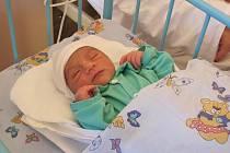 Kristián Dreveňák se stal prvním jihlavským miminkem roku 2011. Chlapeček vážil 2 800 gramů a měřil 48 centimetrů.