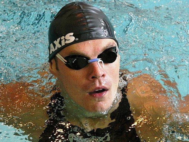 Jihlavský plavec Tomáš Fučík.
