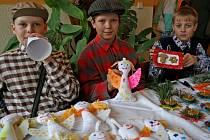 Tradiční předvánoční jarmark uspořádali žáci základní školy v Kamenici na Jihlavsku.