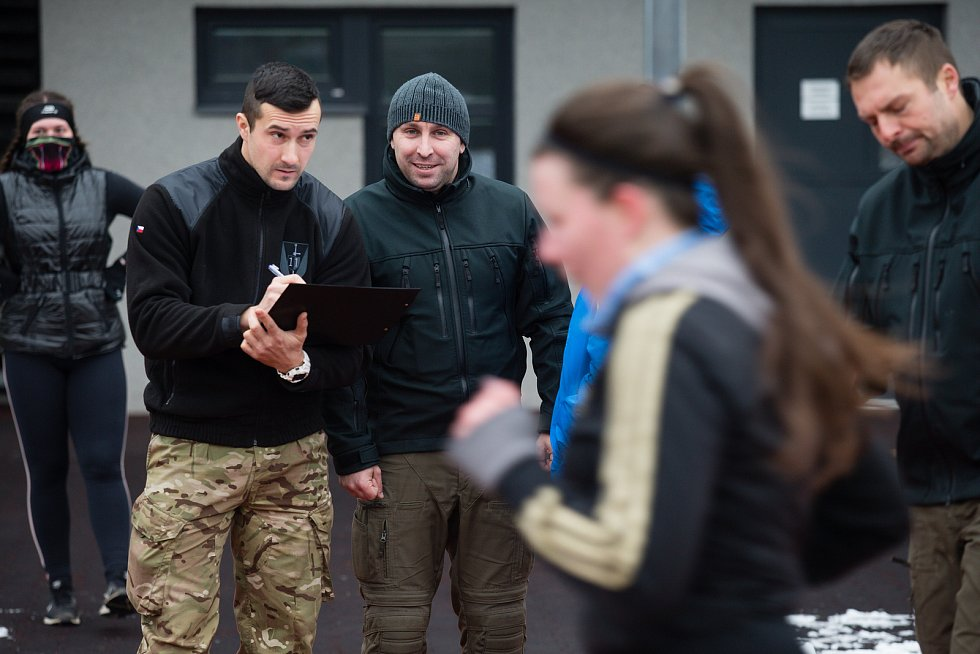 Testy fyzické způsobilosti k nástupu k Policii České republiky.