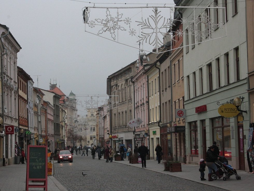 Jihlava se odívá do vánoční atmosféry. Ilustrační foto.