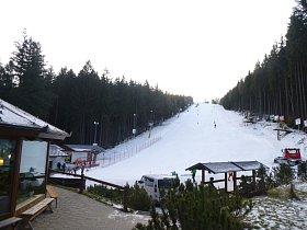 Na Šacberku zahájili lyžařskou sezonu