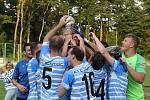 Fotbalisté Humpolce před týdnem slavili zisk Perleťového poháru, v MOL Cupu ale skončili už v předkole.