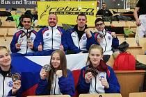 Naděje Reborn klubu měly v Rakousku skvělou formu. Důkazem je sedm medailí.