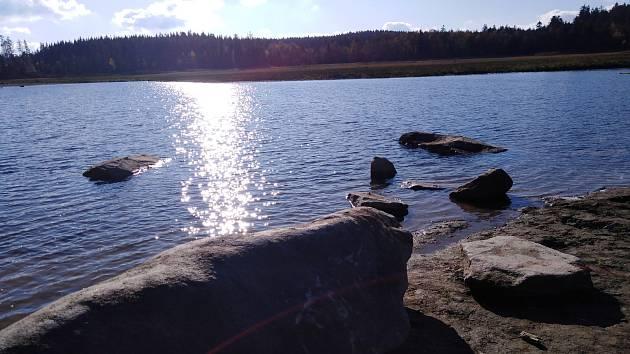 Velký Pařezitý rybník.