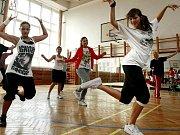 Taneční škola v areálu Střední odborné školy v Třešti na archivním snímku.