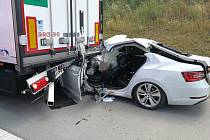 Loňská tragická nehoda na 150. kilometru dálnice D1.