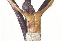 Přemyslovský kříž starý 600 let.