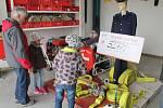 Den otevřených dveří v hasičském areálu v Telči